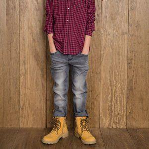 Levi's 511 Regular Fit Faded Black Wash Jeans